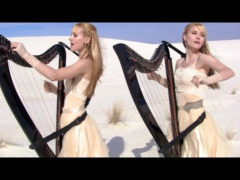 METALLICA – Enter Sandman (Harp Twins + Drums) Camille and Kennerly